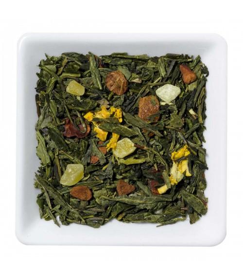 Groene thee mangosteen