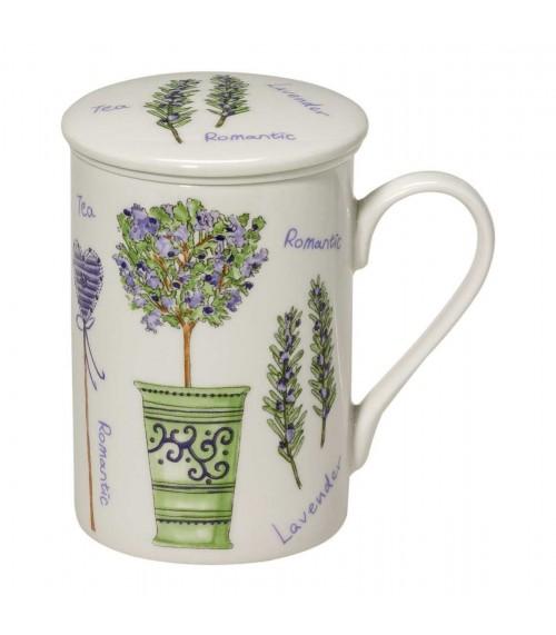 Porcelein Mok Lavendel