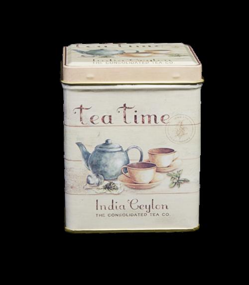 Theeblik Vierkant Tea Time