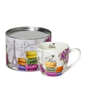 Geschenkset beker 'Macarons de Paris'