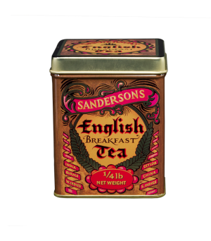 Theeblik Vierkant English Breakfast Tea