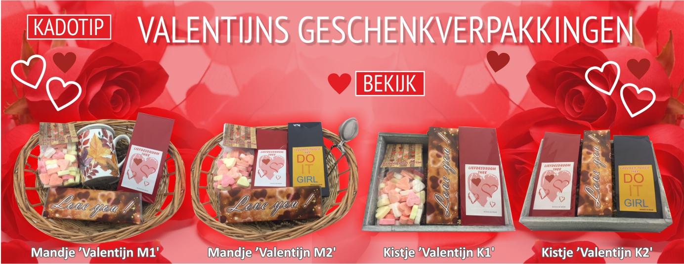 Valentijn pakketten