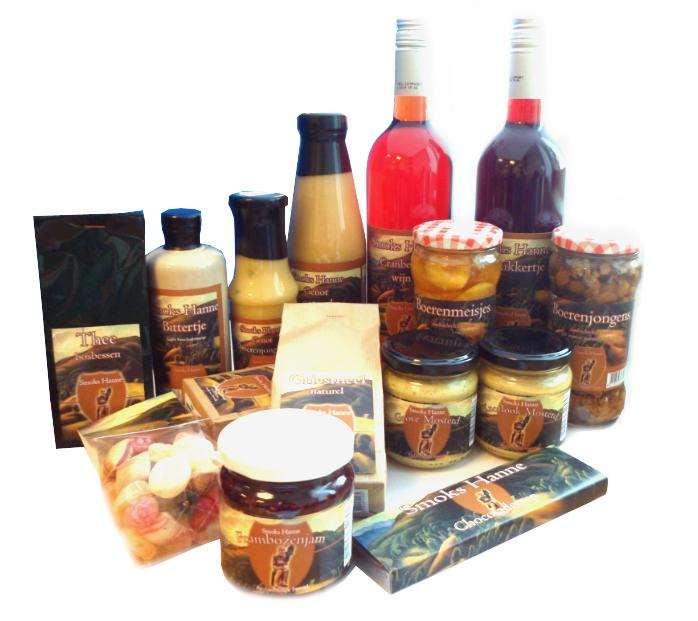 Producten met eigen etiket, bedrijfsnaam en logo